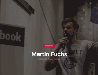 martin-fuchs.org screenshot