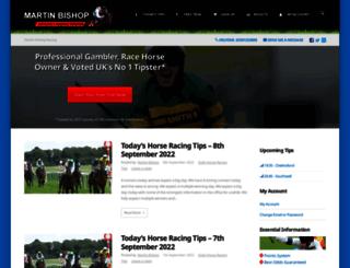 martinbishopracing.co.uk screenshot