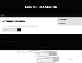 martindelacroix.com screenshot