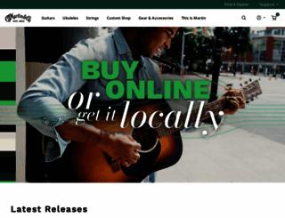 martinguitar.com screenshot