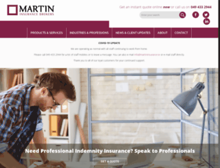 martininsurance.ie screenshot