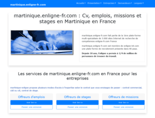 martinique.enligne-fr.com screenshot