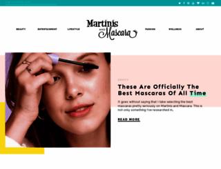 martinisandmascara.com screenshot