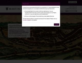 martinrandall.com screenshot