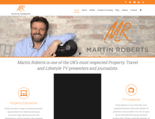 martinroberts.co.uk screenshot