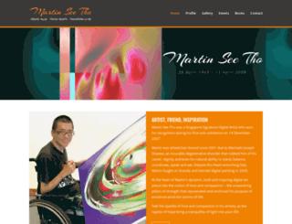 martinseetho.com screenshot