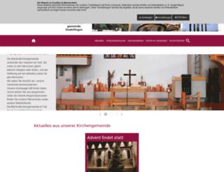 martinskirche-sindelfingen.de screenshot