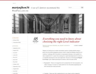 martynjhon36.wordpress.com screenshot