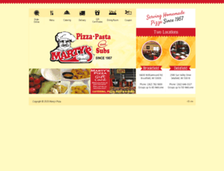martyspizza.net screenshot