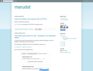 marudot.com screenshot