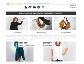 marusya-boho.com screenshot