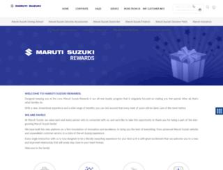 marutiautocard.com screenshot