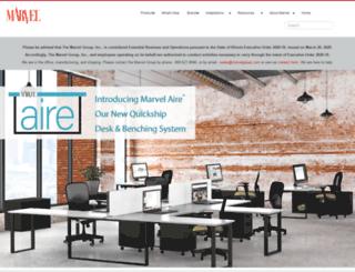 marvelgroup.com screenshot