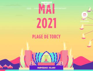 marvellous-island.fr screenshot