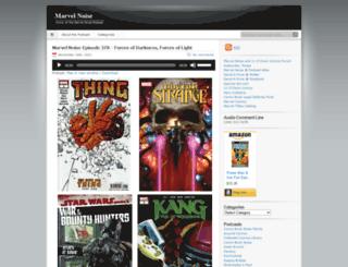 marvelnoise.com screenshot