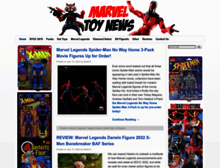marveltoynews.com screenshot