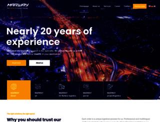 marway-europe.com screenshot