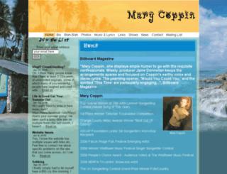 marycoppin.com screenshot