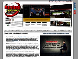 marylandwebdesigners.com screenshot