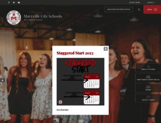 maryville-schools.org screenshot