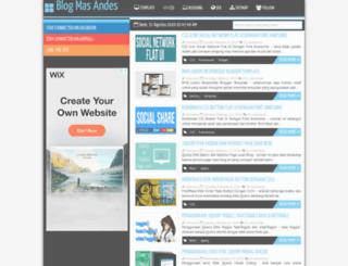 mas-andes.blogspot.com screenshot