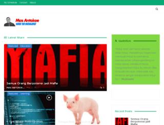 mas-anto.com screenshot