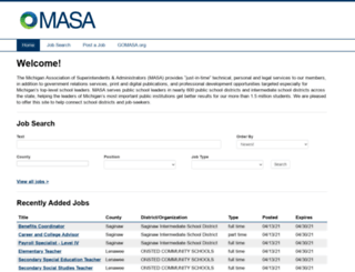 masa.mistaff.com screenshot