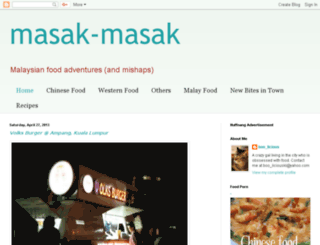 masak-masak.blogspot.com screenshot