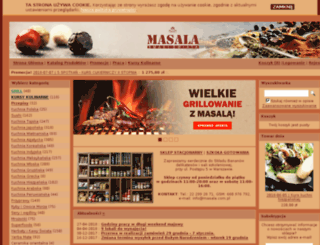 masala.com.pl screenshot