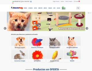 mascotamoda.com screenshot