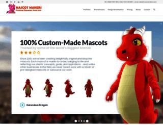 mascotmakers.com screenshot
