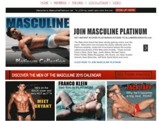 masculineplatinum.net screenshot