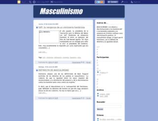 masculinismo.blogcindario.com screenshot