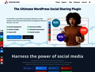 mashshare.net screenshot