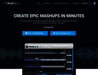 mashup.mixedinkey.com screenshot