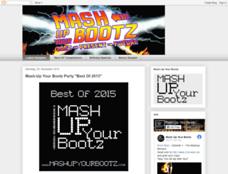 mashupyourbootz.blogspot.com screenshot