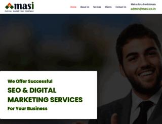 masi.co.in screenshot