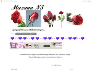 masidah.blogspot.com screenshot