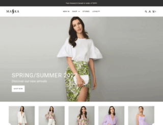 maskamode.com screenshot