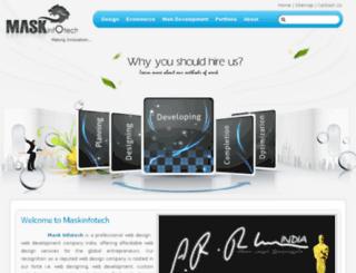 maskinfotech.com screenshot