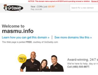 masmu.info screenshot