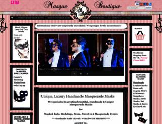 masqueboutique.com screenshot