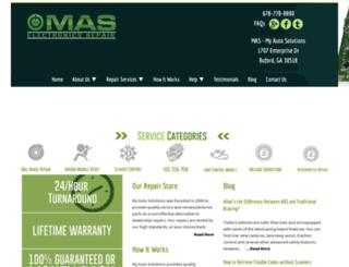 masrepair.com screenshot