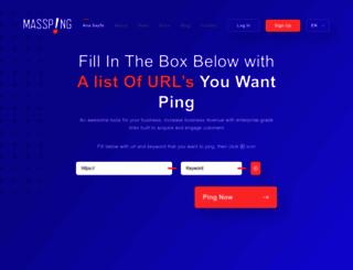 mass-ping.com screenshot