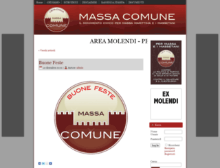 massacomune.it screenshot
