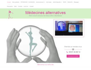 massage-et-minceur.fr screenshot