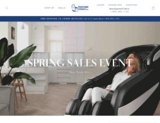 massagechairs.com screenshot