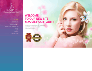 massageinsaopaulo.com screenshot