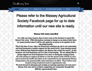 masseyfair.ca screenshot