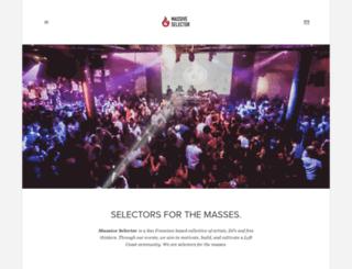 massiveselector.com screenshot
